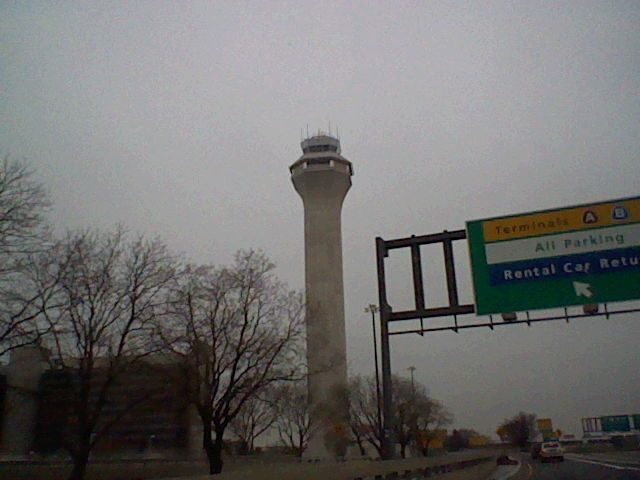 Newark Airport Traffic Control Tower