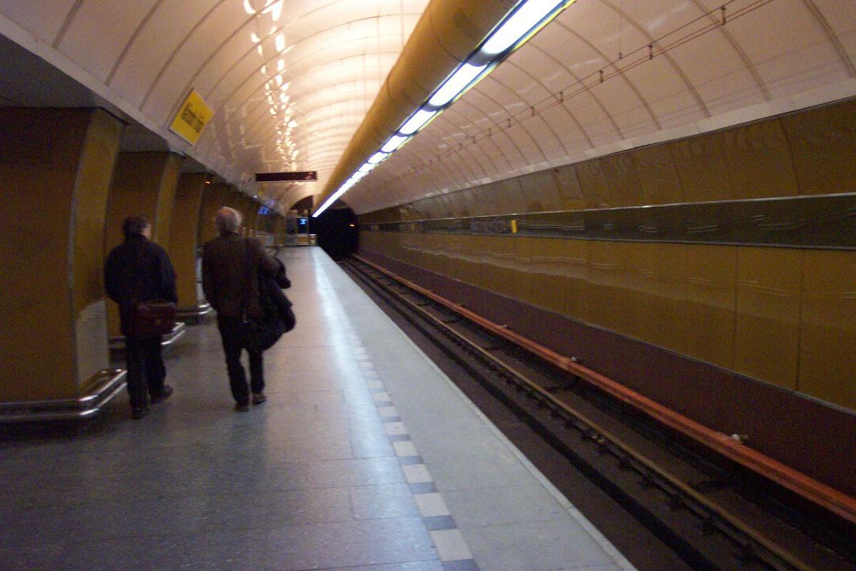 Národní trída Metro Station