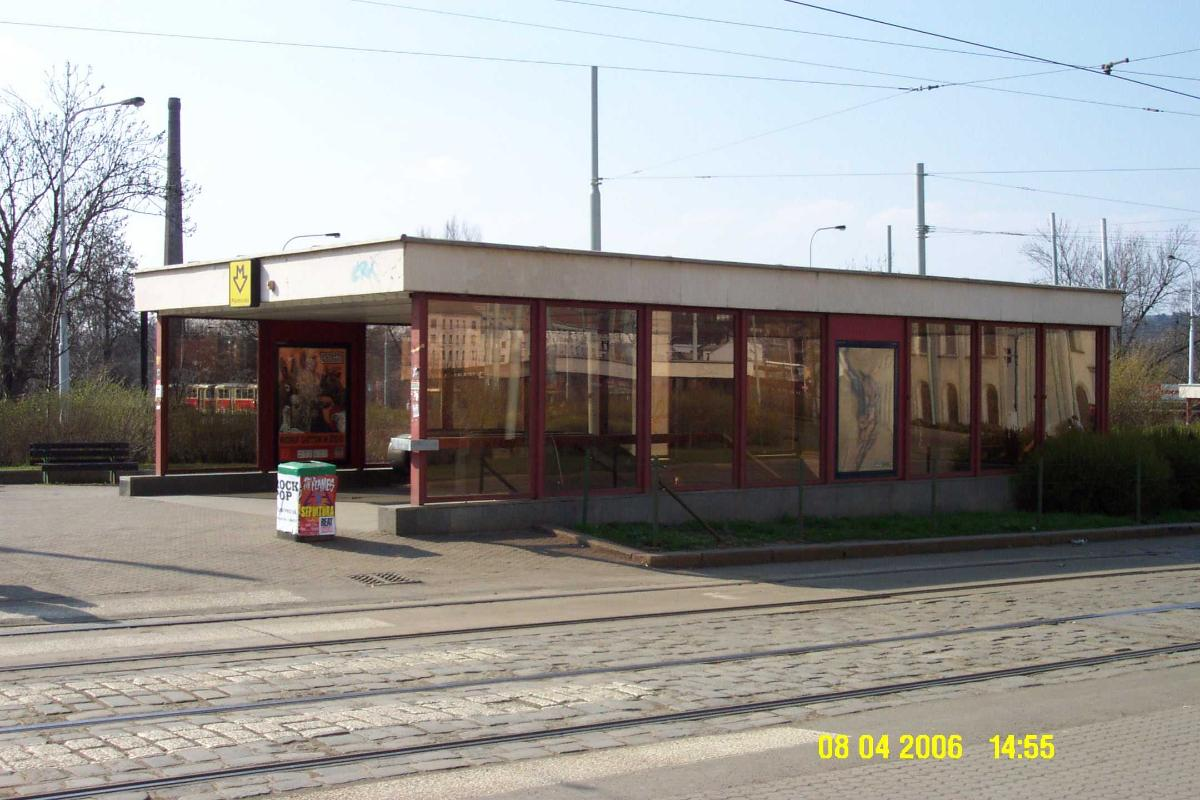 Palmovka Metro Station