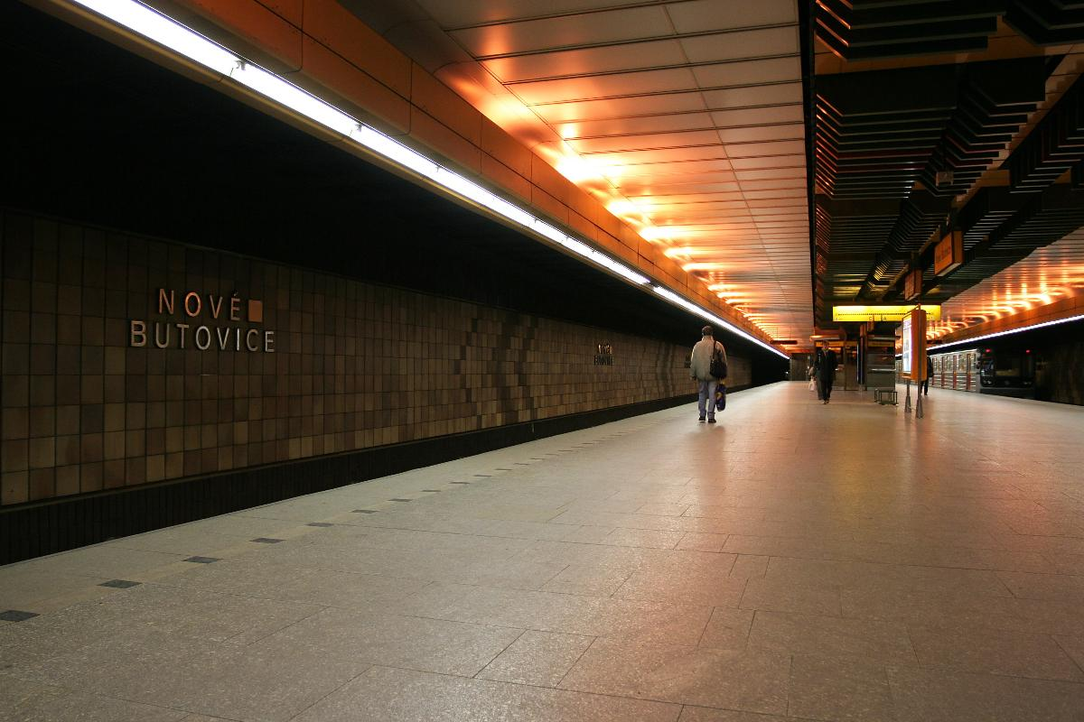 Nové Butovice Metro Station(photographer: che)