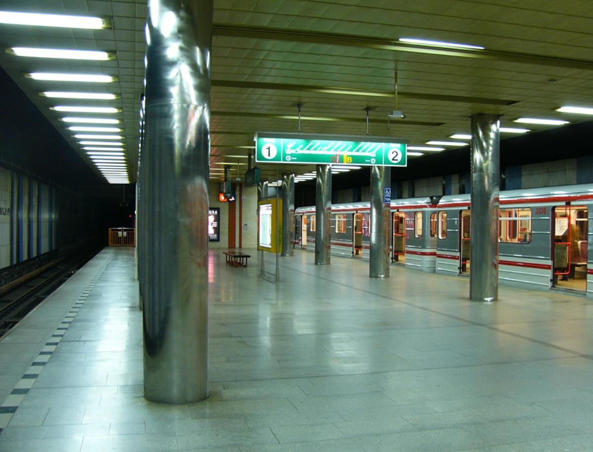 Skalka Metro Station
