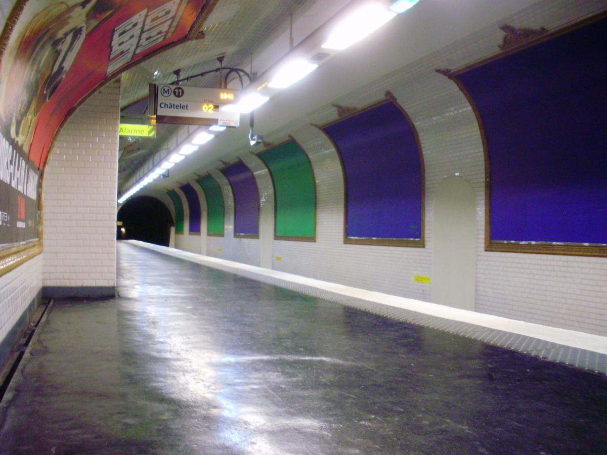 Télégraphe Metro Station