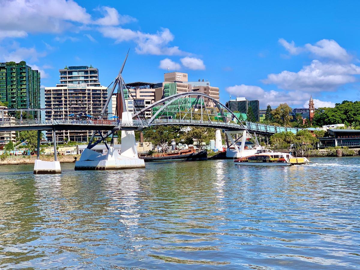 The Goodwill Bridge, Brisbane, Queensland