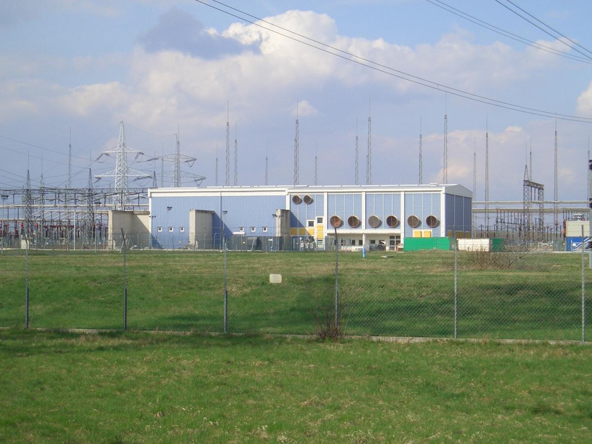 Stromrichterhalle der GK Wien-Südost