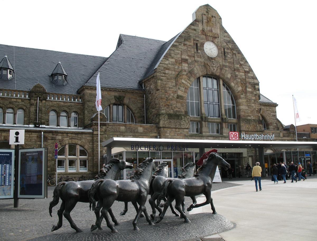 Gare centrale d'Aix la chapelle - Aix la chapelle