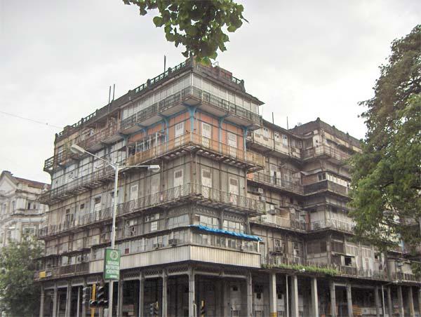 Esplanade Mansions (Watson's Hotel) in Mumbai