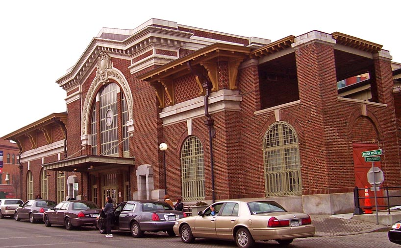 Yonkers Metro-North Train Station
