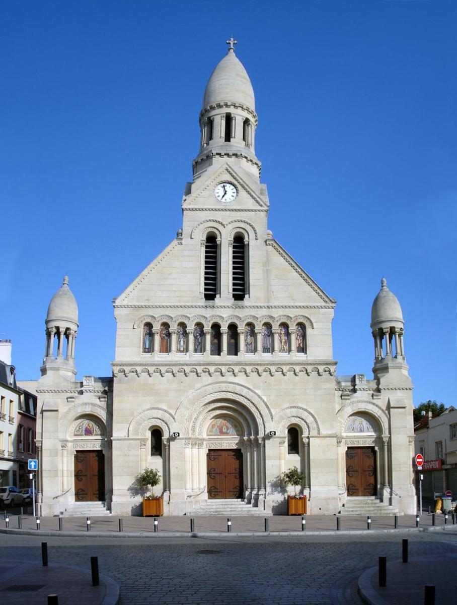 Eglise saint joseph enghien les bains structurae for Salle des ventes enghien les bains