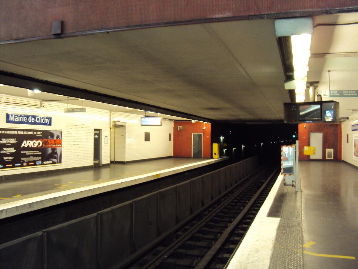 Station de métro Mairie de Clichy