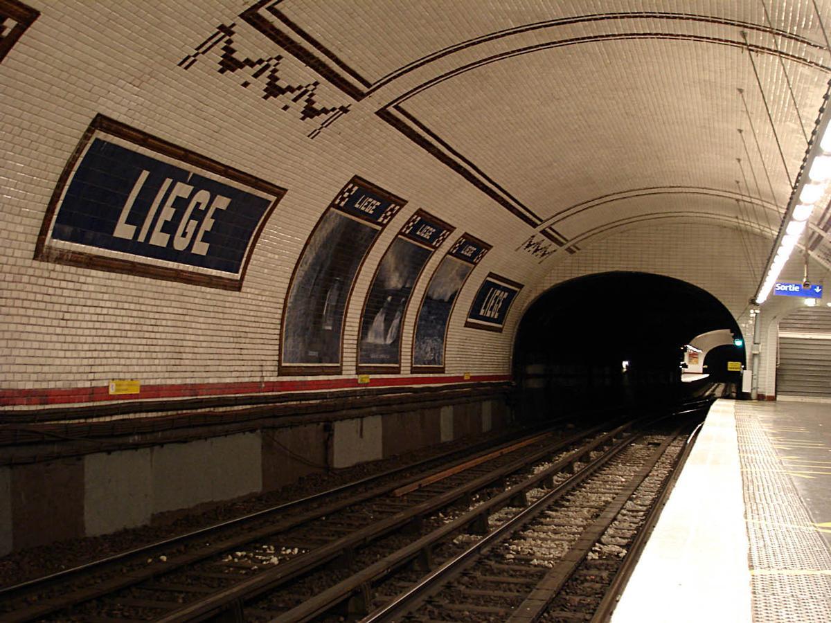 Liège Metro Station