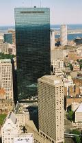 John Hancock Tower, Boston, Massachusetts.