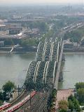 Hohenzollernbrücke, Cologne.