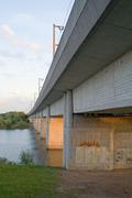 Bridge over Giftener Lake, High-speed Rail Line Hanover-Würzburg